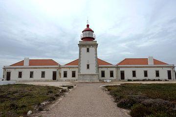 Cabo sardao vuurtoren, alentejo, portugal van