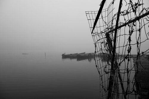 Abandoned harbor van