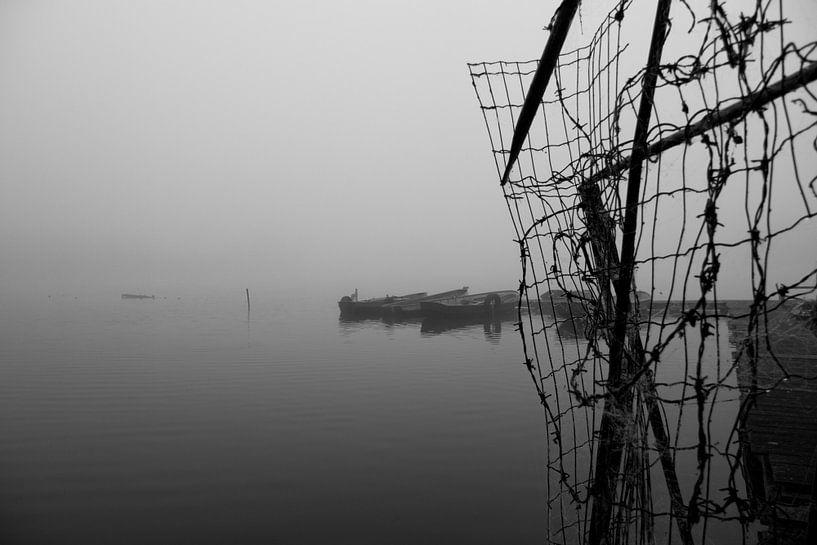 Abandoned harbor van Marco de Groot