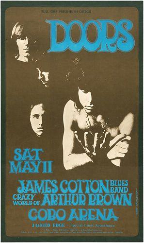 Werbung the Doors mit Jim Morrison von Natasja Tollenaar