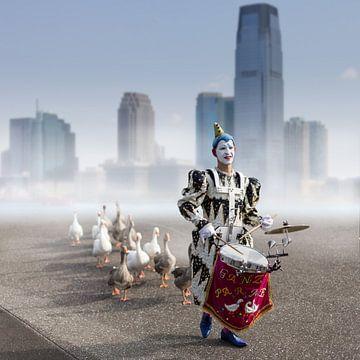Ganzenparade  von Xlix Fotografie