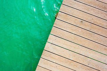 Zwemmeer in de zomer