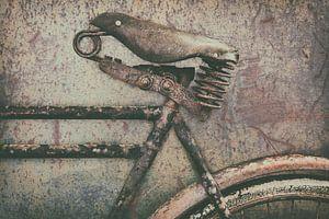 De oude transportfiets