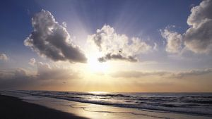 Rays of light..