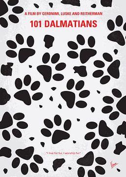 No229 My 101 Dalmatians minimal movie poster van Chungkong Art