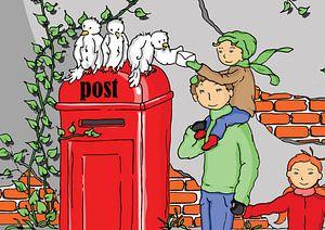 post uitvergroot van
