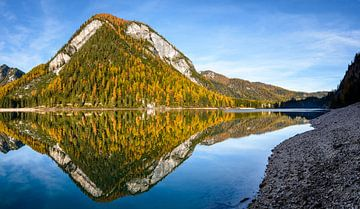 Braies Lake, Lago di Braies van Michael Blankennagel