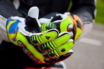 Valentino Rossi replica handschoenen van Ralph van Houten