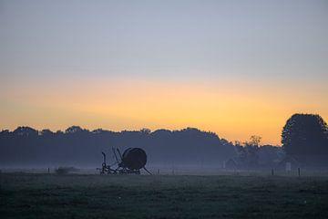 zonsopkomst bij de boer van Tania Perneel