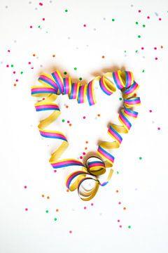 Confetti slinger  van Angelique Rademakers