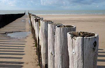 Golfbrekers tussen Zoutelande en Domburg #3 van Koolspix