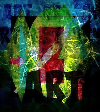Abstrakt Art van Gertrud Scheffler