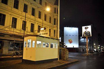 Checkpoint Charlie in Berlin von Silva Wischeropp