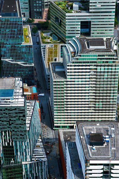 De hoogbouw van de Zuidas in Amsterdam von Marco van Middelkoop