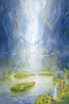 Lichtdurchfluss van Silvian Sternhagel