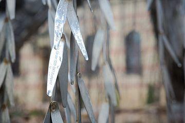 Joods monument Boedapest van Erwin Zwaan