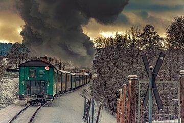 Fichtelbergbahn im Erzgebirge von Johnny Flash