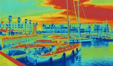 Haven in Lagos/ Portugal van Ineke de Rijk