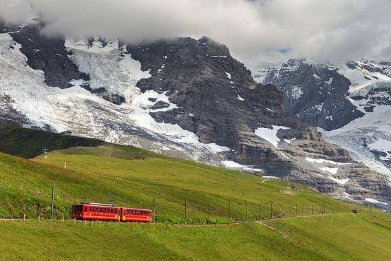 Jungfraubahn kleine Scheidegg van Dennis van de Water