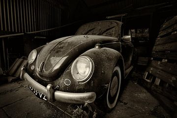 Alte staubiger Volkswagen von Halma Fotografie