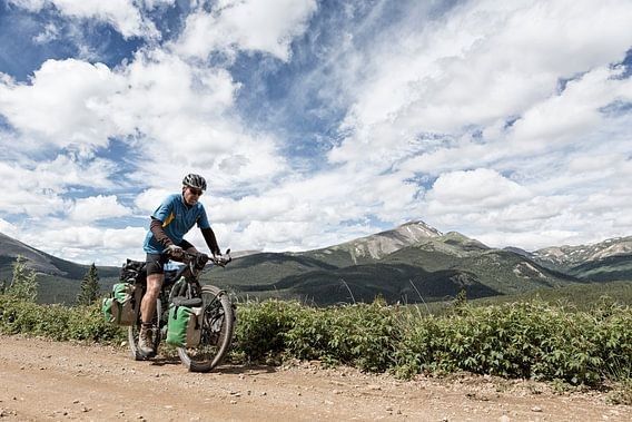 Fietsen Great Divide Mountain Bike Route Colorado van Ellen van Drunen