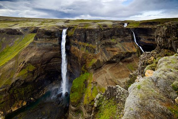 Háifoss te IJsland 2