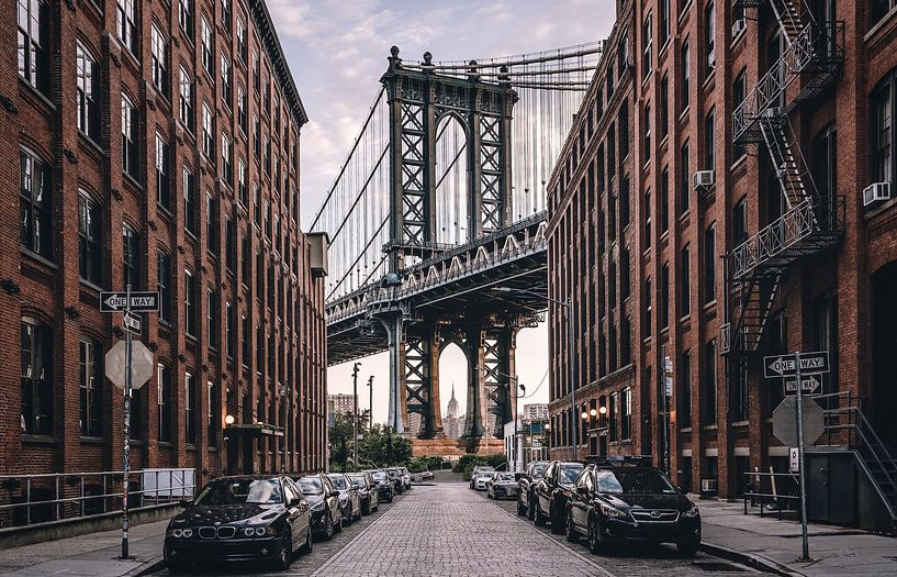 Manhattan Bridge van Photo Wall Decoration