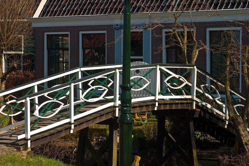 Brücke auf der Zaanse Schans von Agnes Meijer