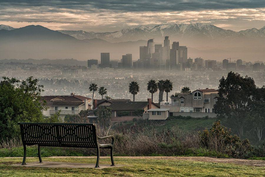 Een bankje met uitzicht, Los Angeles