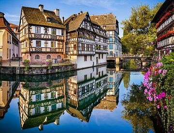 Petite France in Straatsburg van Michael Abid