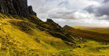 Quiraing, Isle of Skye, Schotland van