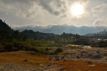 Dieng-plateau, Java  van Inge Beek
