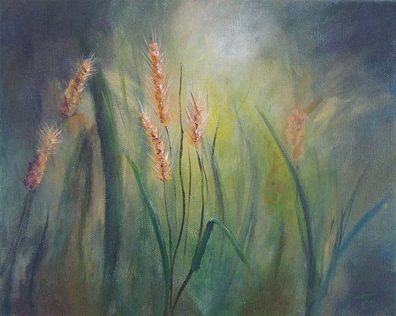"""Impressionistisch schilderij """"Muizengerst"""" van Tanja Udelhofen"""