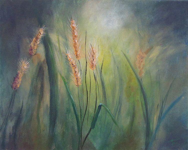 "Impressionistisch schilderij ""Muizengerst"""