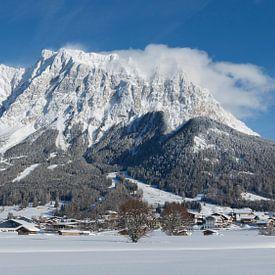 Zugspitze Tirol Ehrwald Schnee von Dennis Hilligers