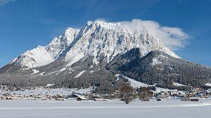 Zugspitze Tirol Ehrwald Schnee von