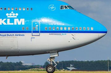 Royal Dutch Airlines van