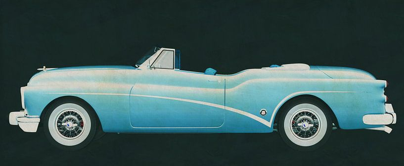 Buick Skylark Convertible 1956 van Jan Keteleer
