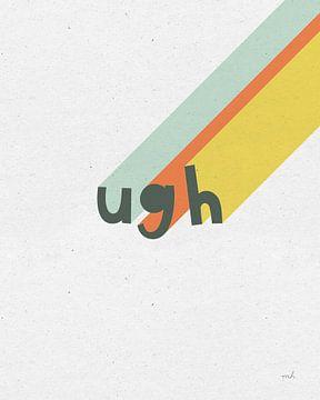Regenbogen-Wörter II, Moira Hershey von Wild Apple