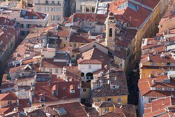 Nice, prachtige stad aan de Côte d'Azur in Frankrijk van Rosanne Langenberg