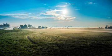 Mist in de ochtend van Fred Leeflang