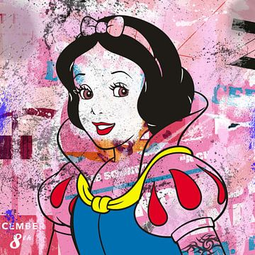 Snow White van Rene Ladenius Digital Art