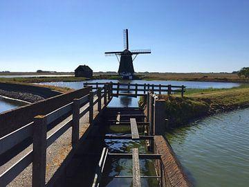 Molen 'het Noorden' op Texel, Oost, Oosterend van Lisette OpTexel