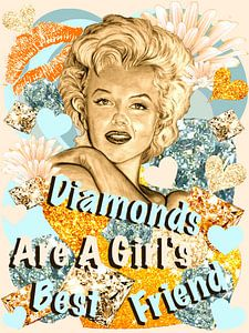 Diamonds Are A Girl's Best Friend van