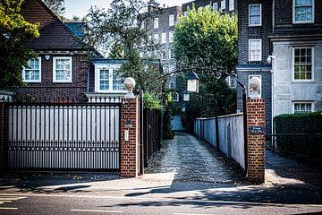Een verlaten straat in Londen| Straatfotografie van Diana van Neck Photography