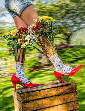 Wachstum und Blüte von Marielle Jurvillier