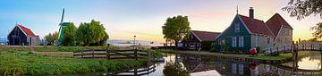 Panorama  Zaanse Schans sur Anton de Zeeuw