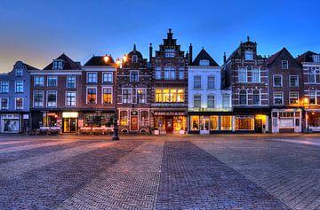 Mooie Gevels in Delft sur Charlene van Koesveld