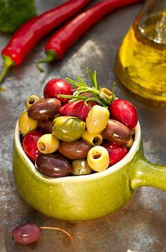 Oliven von Marga Goudsbloem