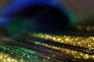 Lichtstrahlen von Gold